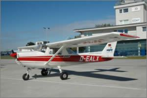 Cessna 150 D-EALX from Arrow Airservice